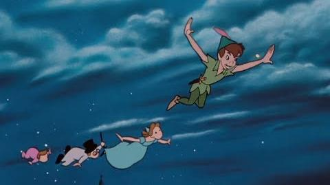 Video Peter Pan You Can Fly Clip Jadens Adventures Wiki