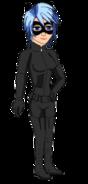 Aqua as Catwoman