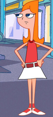 Candace with hands on hips