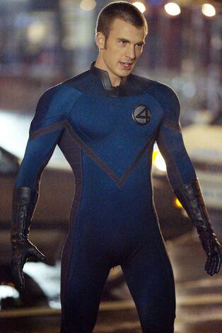 Chris Evans as Human Torch