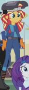 Sunset Shimmer metalworker ID EG3