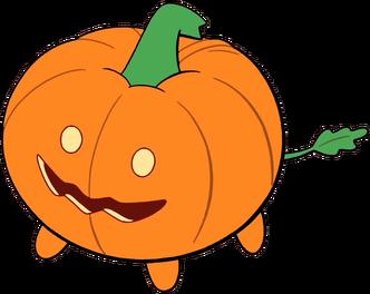Pumpkin Dog by Lapis Bob