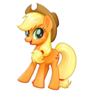 MLP The Movie Applejack official artwork