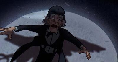 Professor ScrewEyes despair and later death