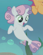 Sweetie Belle Sea Pony