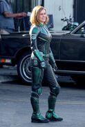 Captain Marvel BTS 1