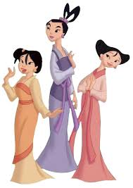 Ting-Ting, Mei and Su