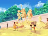 Courtney's Adventures of LoliRock- Castles in the Sand