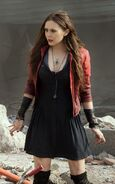 Scarlet Witch Avengers Age Of Ultron Jacket 90518 zoom