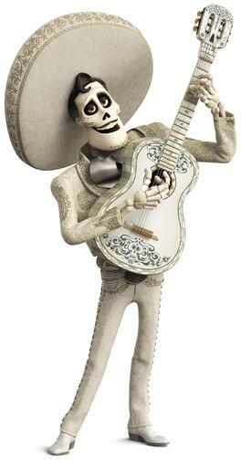 Coco Ernesto de la cruz w guitar