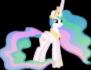 Grinning princess celestia 2 by 90sigma-d5sra5e