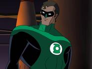 Hal Jordan animated