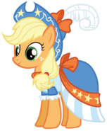 Applejack s coronation dress by bethiebo-d5vqneu