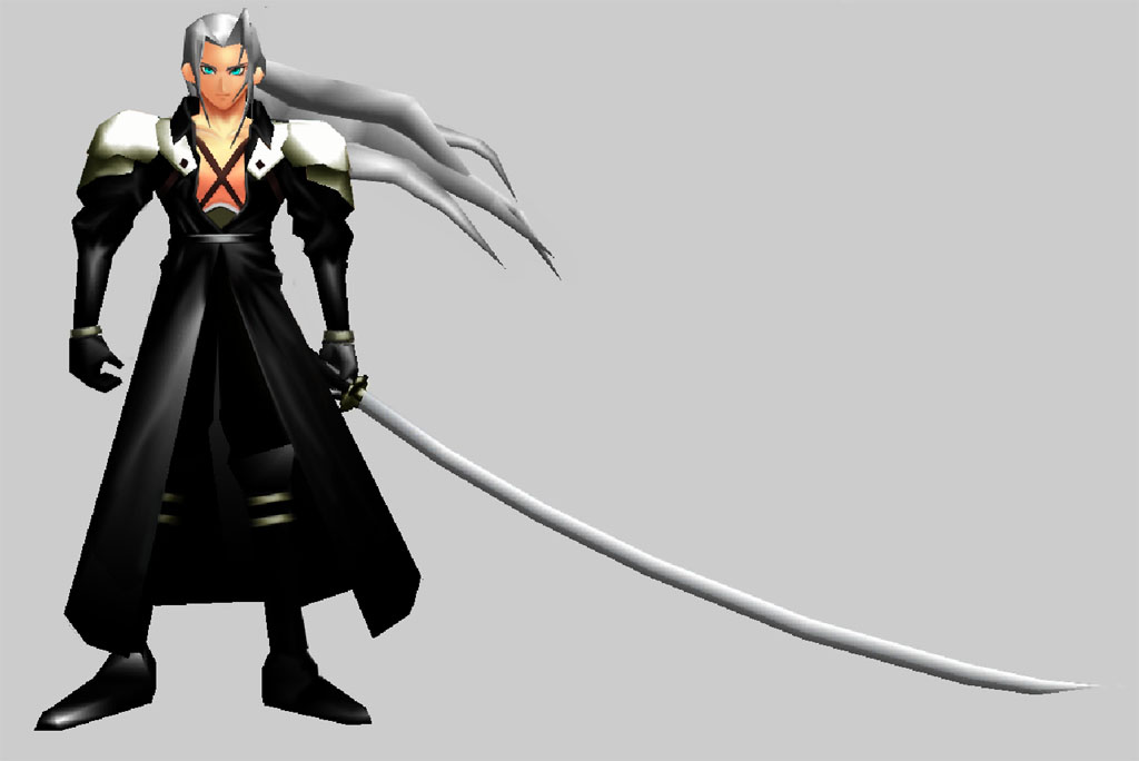 Image result for sephiroth ffz model
