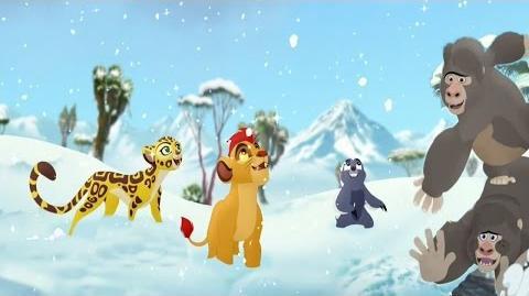 Lion Guard- Kuishi Ni Kucheka Song - The Lost Gorillas Clip