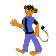 Chris The Lion by ninjademontamer