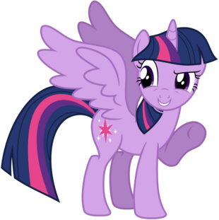 FANMADE Vector Alicorn Twilight Sparkle by kysss90