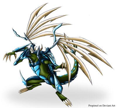 Tmnt leonardo dragon 2 by propimol-d4wv6fi