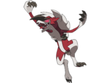 Courtney's Lycanroc (Midnight Form)