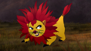 Bunga as a Lion