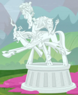 Villains statue ID S9E25