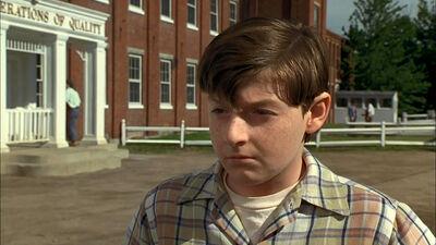 Alan Parrish As A Boy