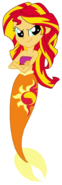 Eg mermaid sunset shimmer by cruelladevil84-d7usohp