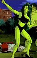 Jennifer Walters (Earth-400285) from The Incredible Hulk (1996 animated series) Season 1 7