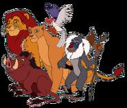 The Lion King Gang