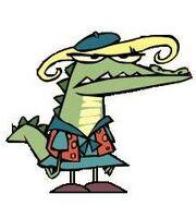 Gretchen the aligator