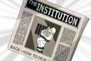 Cruella Institution Newspaper
