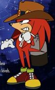 Knuckles the echina and mole ova-0