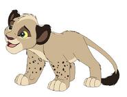 Snow Leopard Cub Zak
