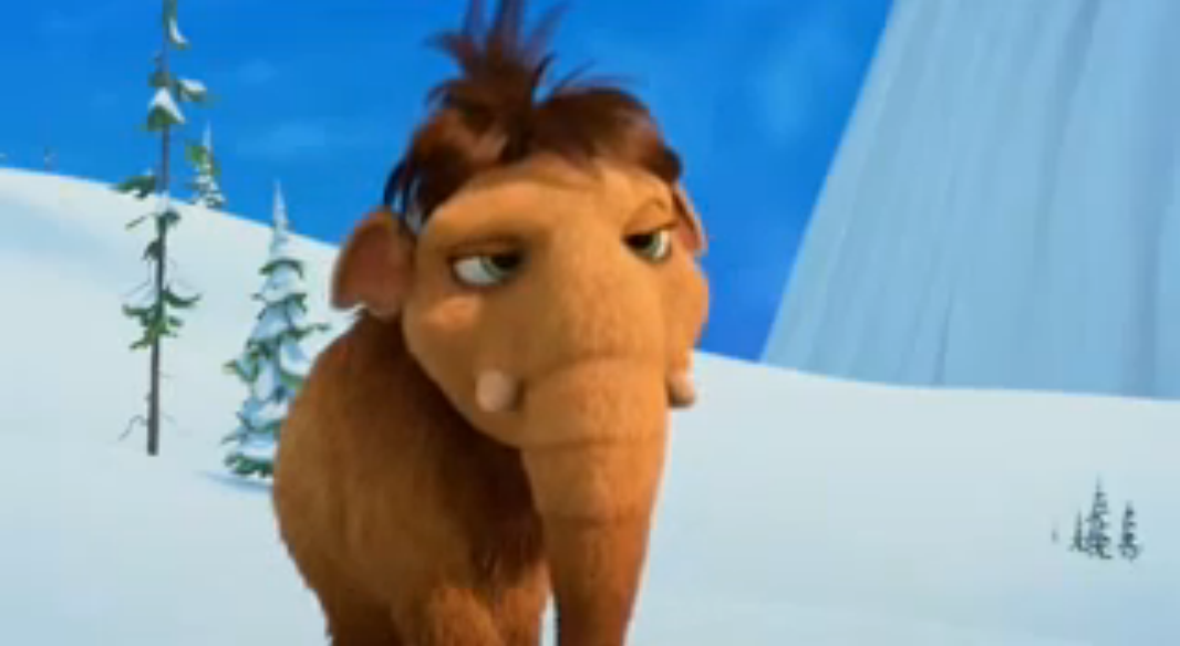 ice age a mammoth christmas peaches annoyed sighpng - Ice Age Mammoth Christmas