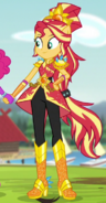 Sunset Shimmer Crystal Guardian form ID EG4