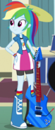 Rainbow Dash in Equestria Girls