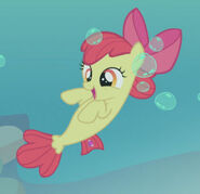 Apple Bloom sea pony