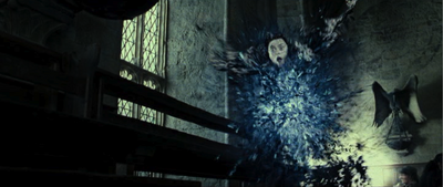 Bellatrix dies