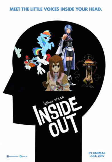 Inside Out 2015 film poster2