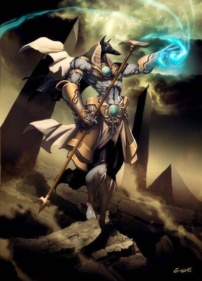 Anubis by GENZOMAN