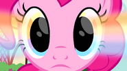 Rainbow glow in Pinkie's eyes S4E12