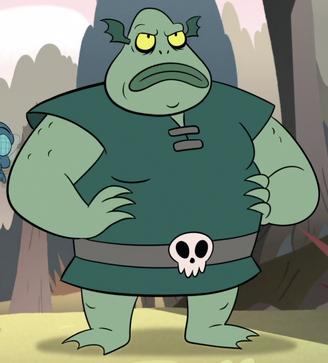 Buff Frog