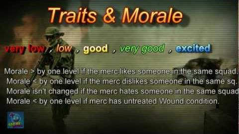 Jagged Alliance Back in Action - Traits & Morale