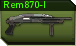 Remington 870-I c icon