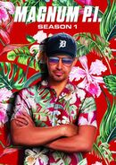 Magnum P.I. Season 1 DVD cover