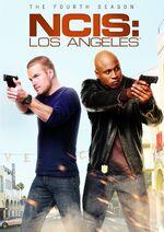 NCIS Los Angeles Season 4 DVD cover