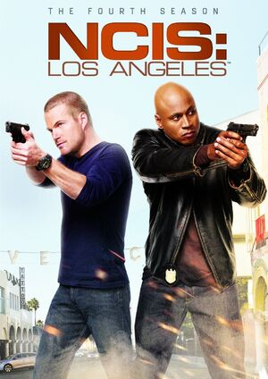 NCIS Los Angeles Season 4 DVD cover