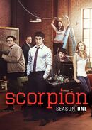 Scorpion Season 1 DVD cover