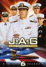 JAG Season 6 DVD cover