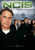 NCIS Season 4 DVD cover
